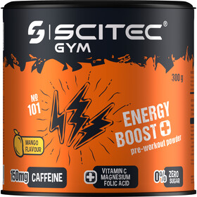 SCITEC Energy BOOST Workout Powder 300g, Mango